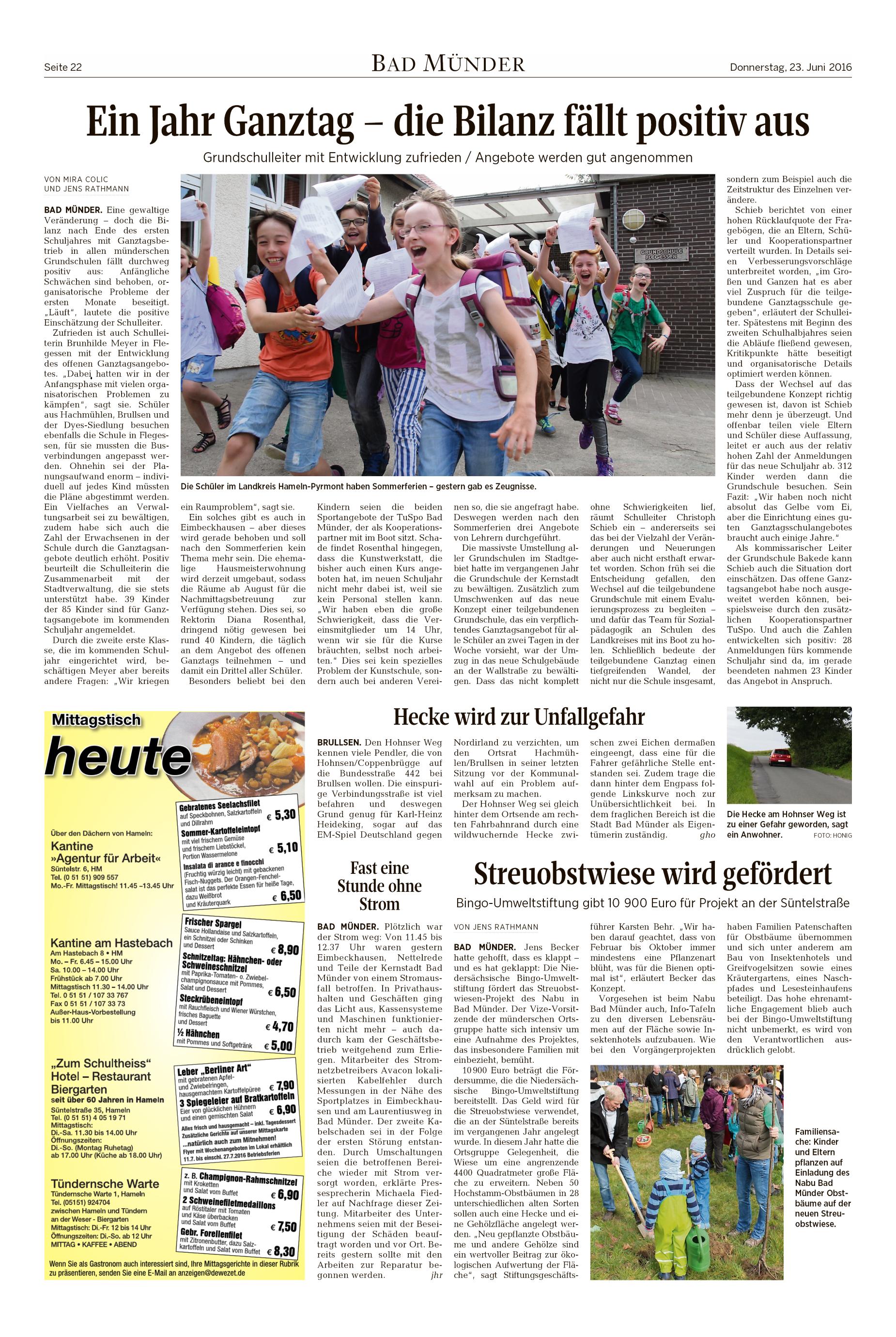 Presse-Archiv 2016 - nabu-hamelnpyrmonts Jimdo-Page!